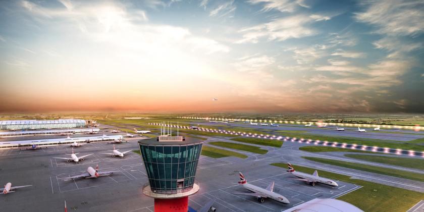 Heathrow Expansion CGI Image