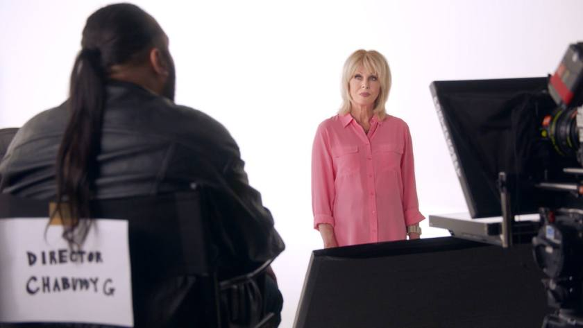 Joanna Lumley and Chabuddy G - BA Safety Video July 2018 (Image Credit: British Airways)