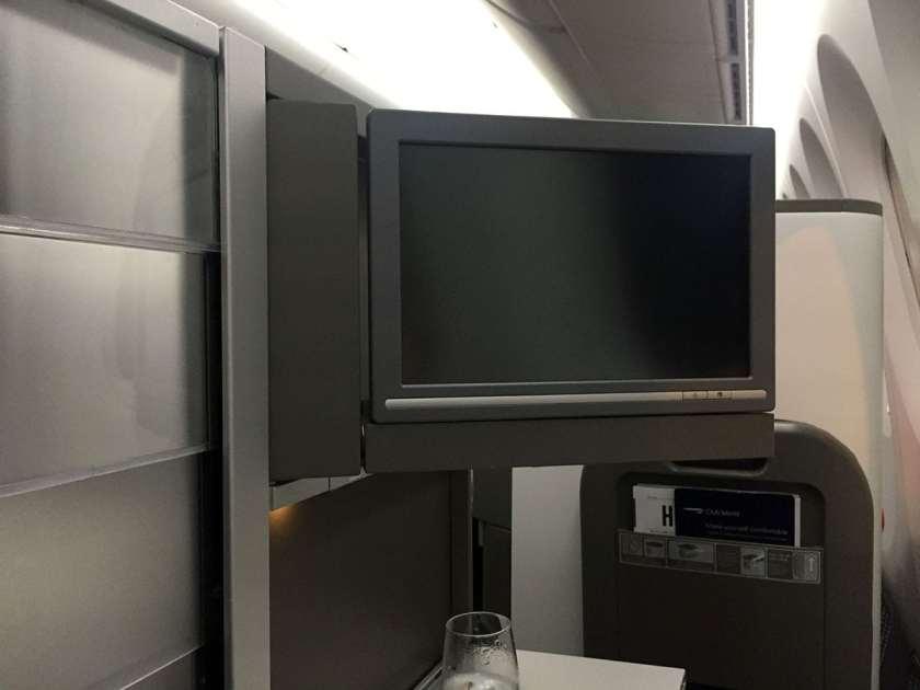 Seat 10A, Club World, BA Boeing 787-9 Dreamliner