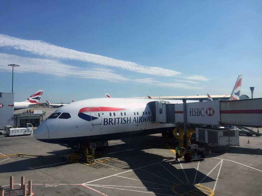 British Airways Boeing 787-9 Dreamliner, London Heathrow Terminal 5B