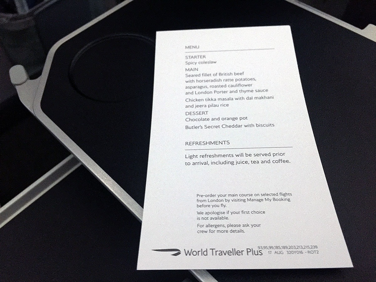 Flying British Airways World Traveller Plus – London Air Travel