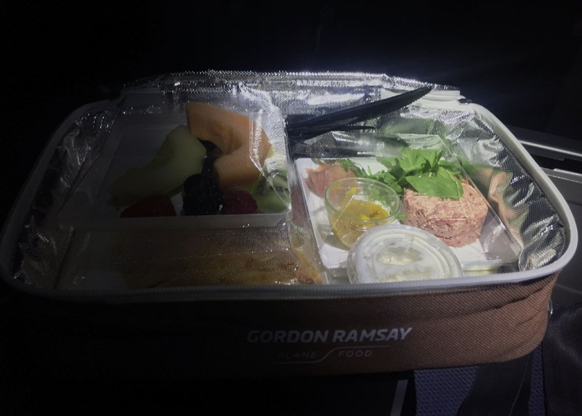 Gordon Ramsay Plane Food Picnic
