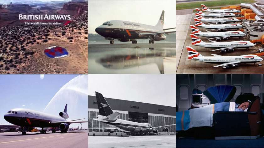 British Airways 99th Birthday Montage