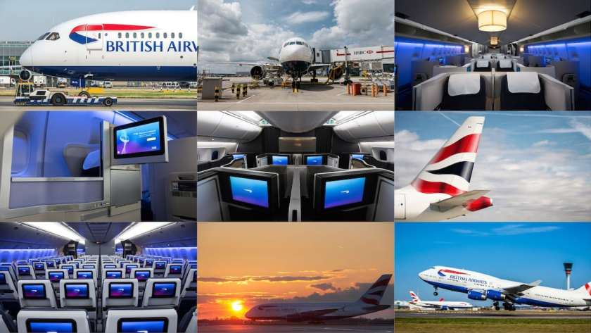 British Airways Fleet Montage