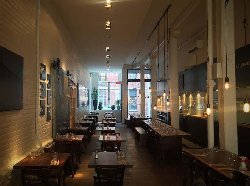 Le Cartet Restaurant, Montreal