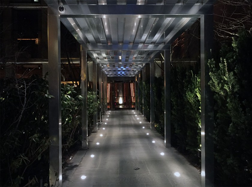 Entrance to Public Hotel, New York