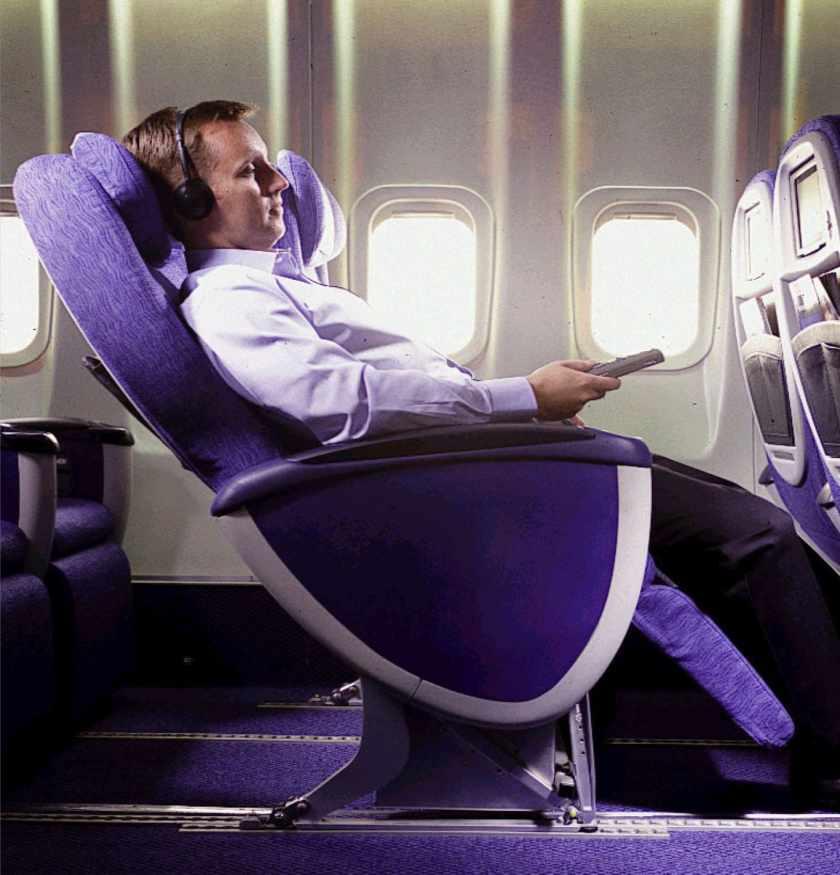 Original British Airways World Traveller Plus Seat
