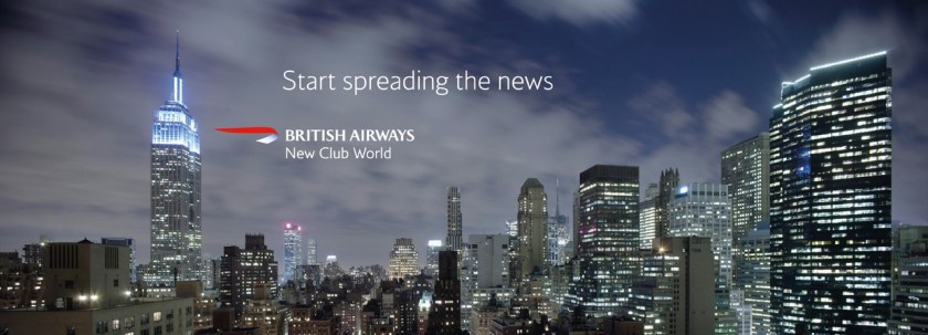 British Airways New Club World Advertisement circa 2006.