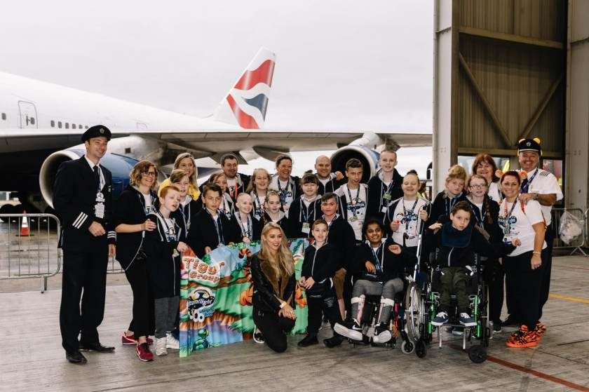 Dreamflight, London Heathrow, Sunday 14 October 2018