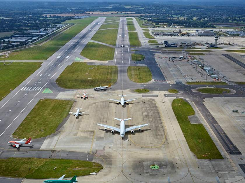 Gatwick Airport Runways