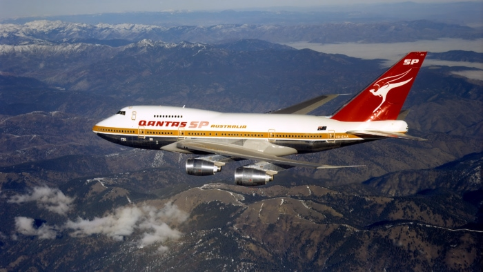 Qantas Boeing 747 SP VH-EAA