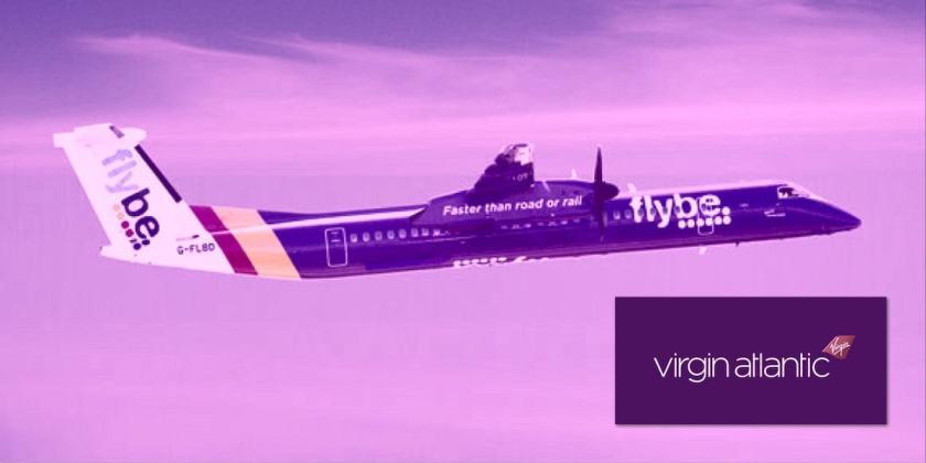 Flybe and Virgin Atlantic