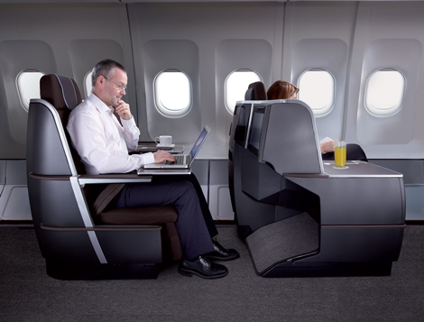 BA Airbus A321 Business Class