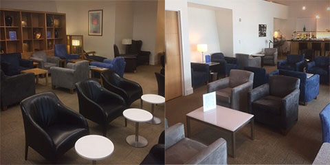 British Airways Lounge San Francisco