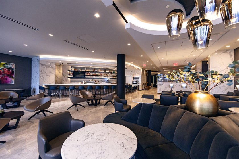 United Polaris Lounge Los Angeles