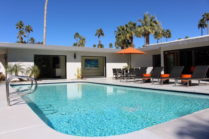 Palm Springs Modernism Week 2019 Featured Home La Vie En Rose