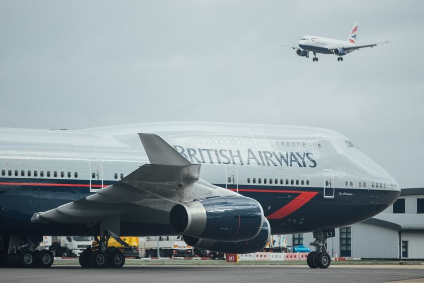 British Airways Boeing 747 G-BNLY