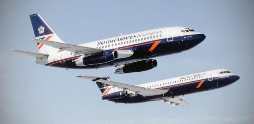 British Airways Boeing 737-236 G-BKYA