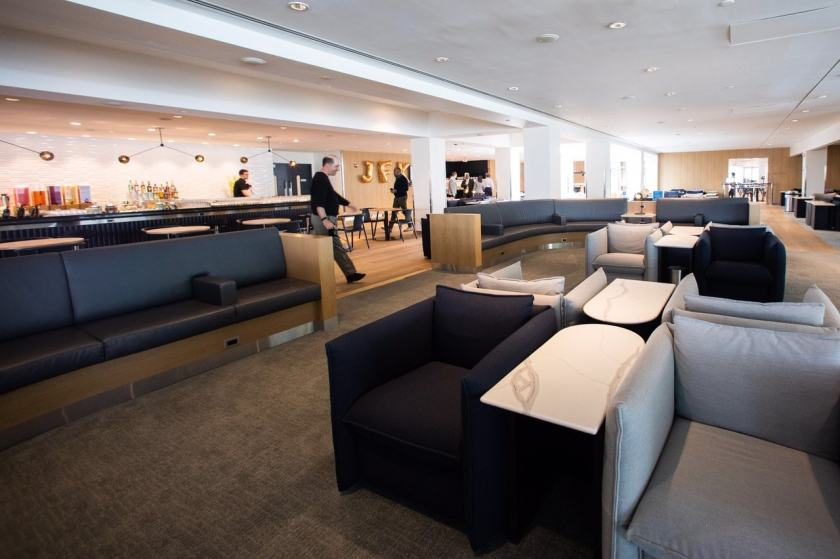 British Airways Club Lounge New York JFK Terminal 7