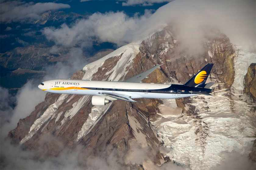 Jet Airways Boeing 777-300ER aircraft
