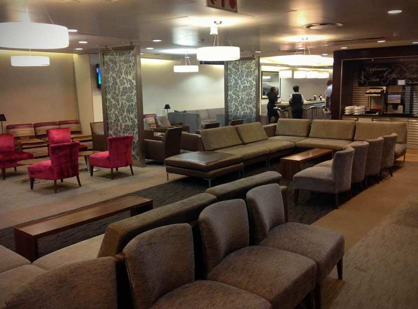 British Airways Galleries lounge, O.R. Tambo International Airport International Departures Terminal, Johannesburg