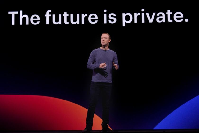 Mark Zuckerberg, Facebook F8 Conference 2019