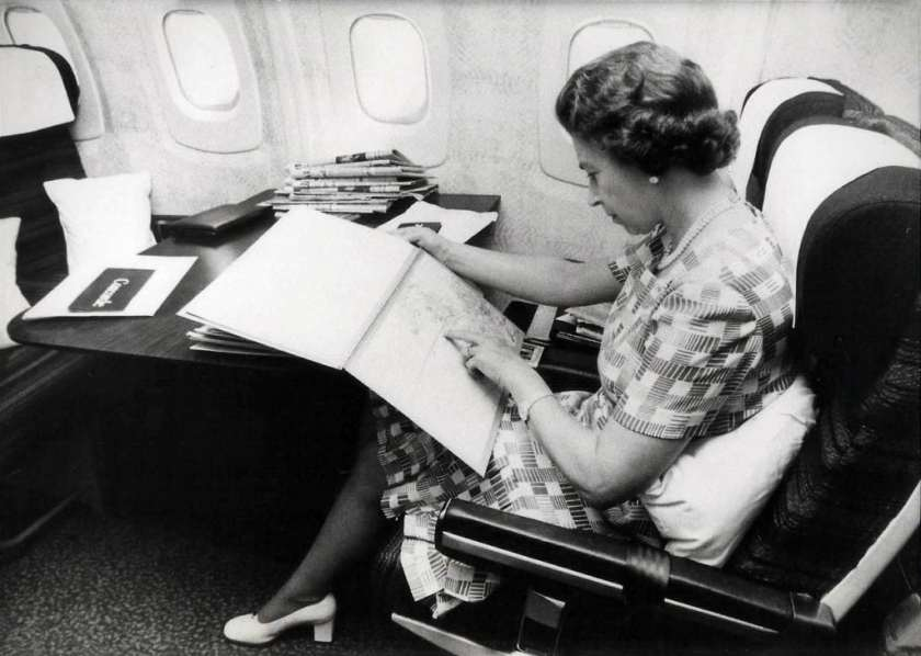 Her Majesty The Queen, Concorde, 1977