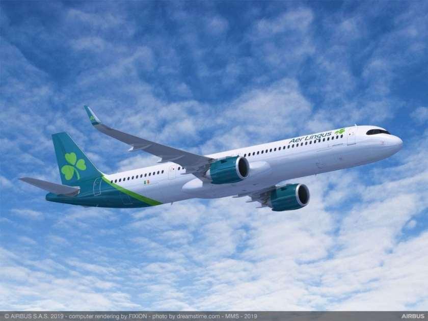 Airbus A321 XLR Aer Lingus Livery