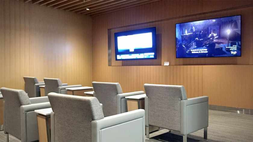 American Airlines Flagship Lounge, Miami, Screening Room
