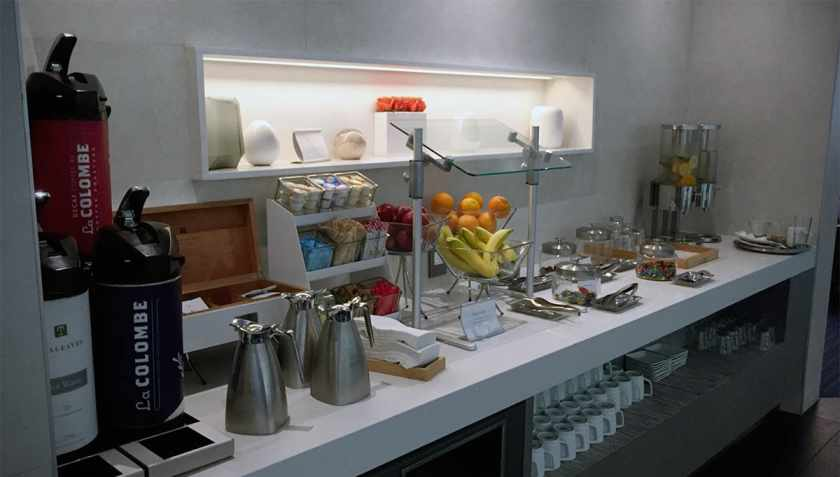 American Airlines Flagship Lounge, Miami, Coffee Station