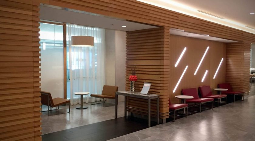 American Airlines Flagship Lounge, Miami, Entrance