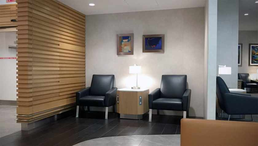American Airlines Flagship Lounge, Miami, Seating