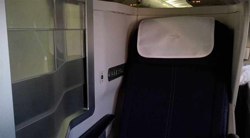 Seat 64K, BA Club World, Boeing 747 Upper Deck