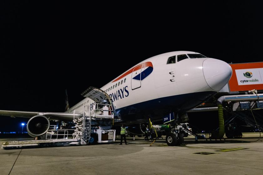 British Airways Boeing 767 G-BZHA, Final Scheduled Departure, Larnaca, Sunday 25 November 2018