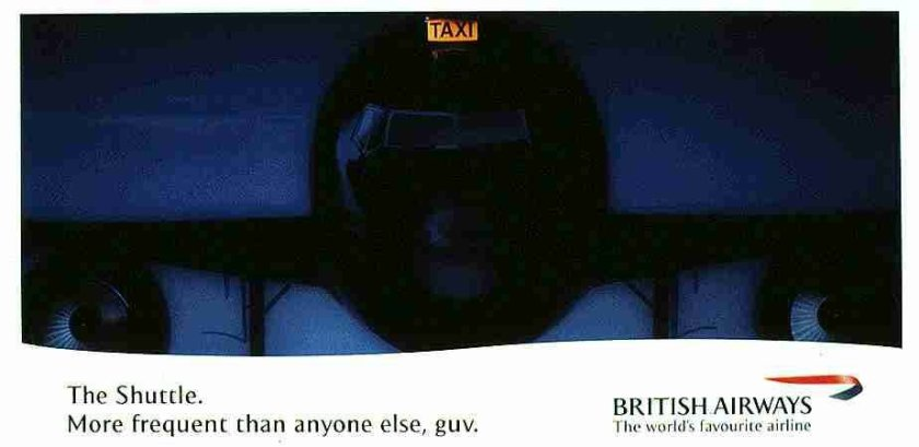 British Airways Shuttle Advertisement, 1998