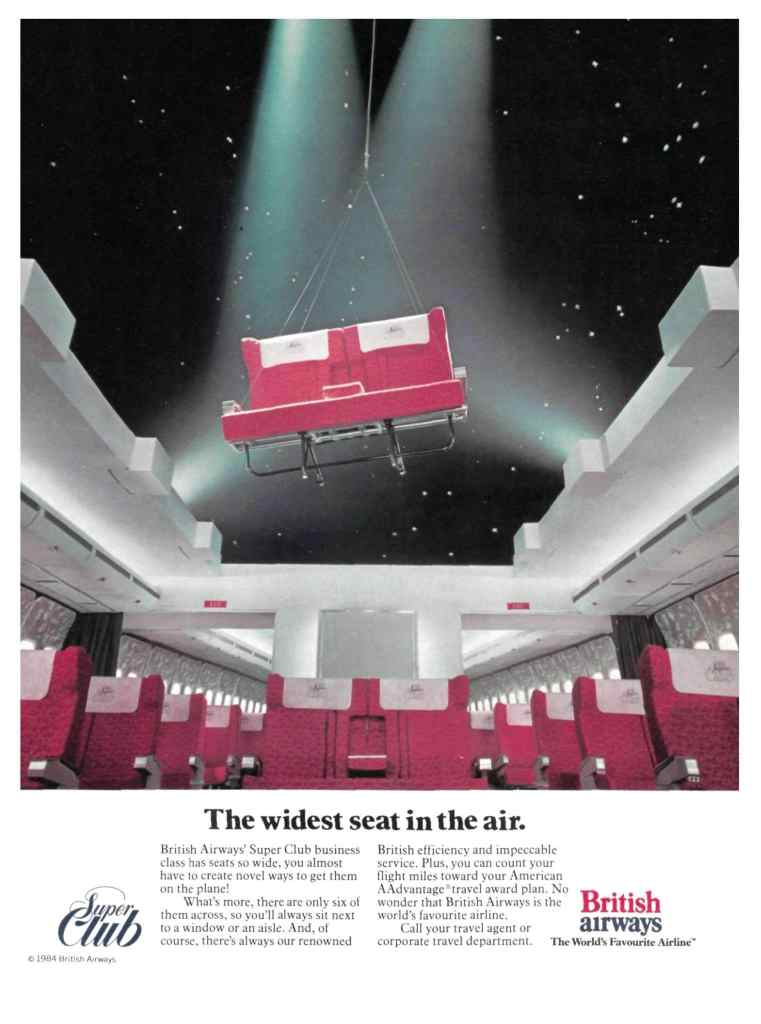 British Airways Super Club Advert (USA)