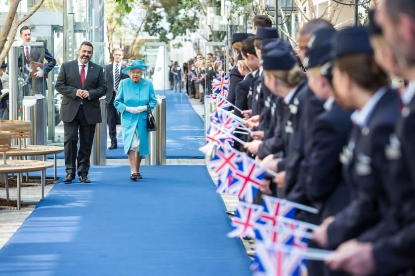 Her Majesty The Queen, Waterside