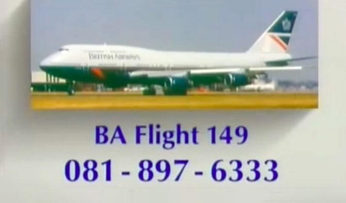 BA Flight 149, BBC News, August 1990