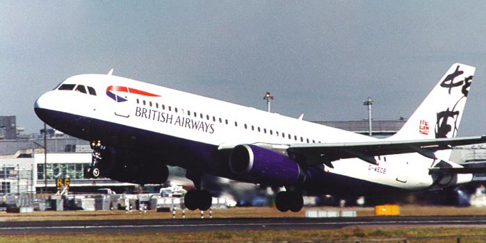 """British Airways Airbus A320 Yip Man-Yam """"Rendezvous"""" Project Utopia Livery"""