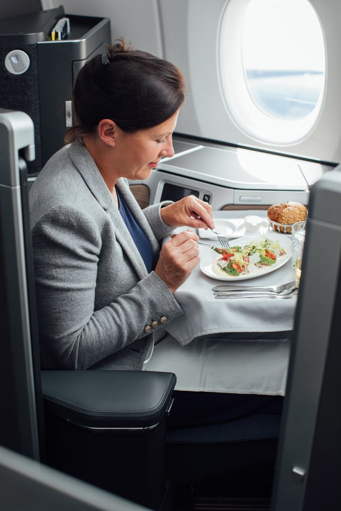 British Airways Airbus A350-1000 Club World Service