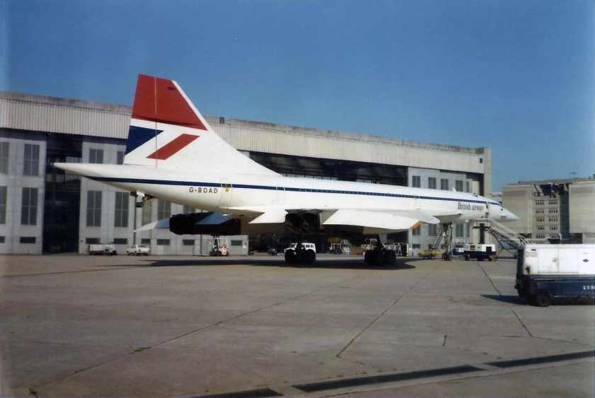 British Airways Concorde G-BOAD, Negus Livery