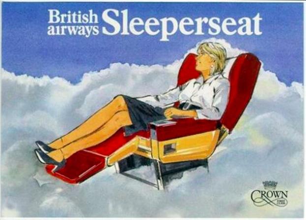 British Airways Crown First Class Sleeper Seat