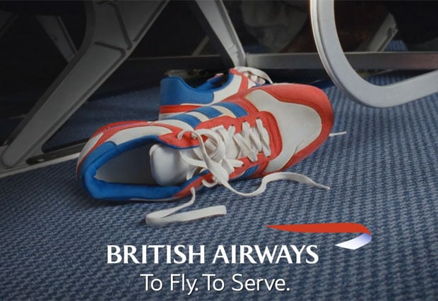 """British Airways """"Relaxed Trainer"""" Advert 2012"""
