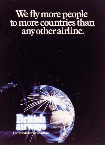 "British Airways ""The World's Favourite Airline"", 1983"