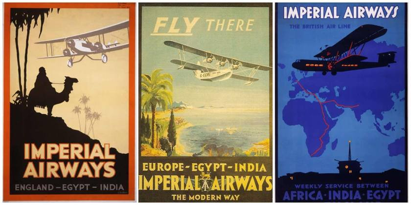 Imperial Airways India Posters