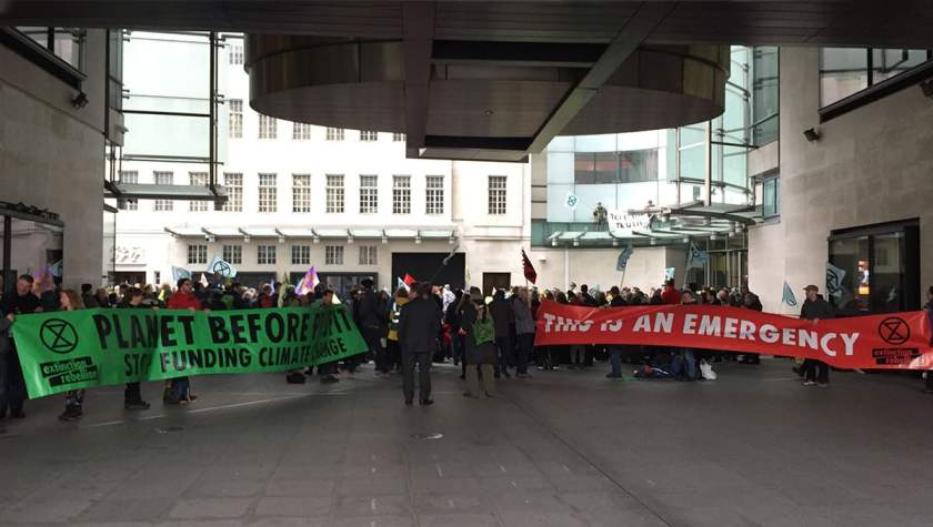 Extinction Rebellion Protest, London, Friday 11 October 2019