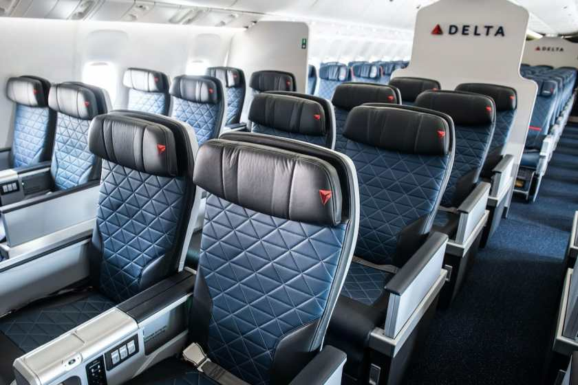 Delta Premium Select, Boeing 767 aircraft