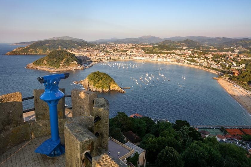 La Concha Bay, Monte Igueldo, San Sebastián