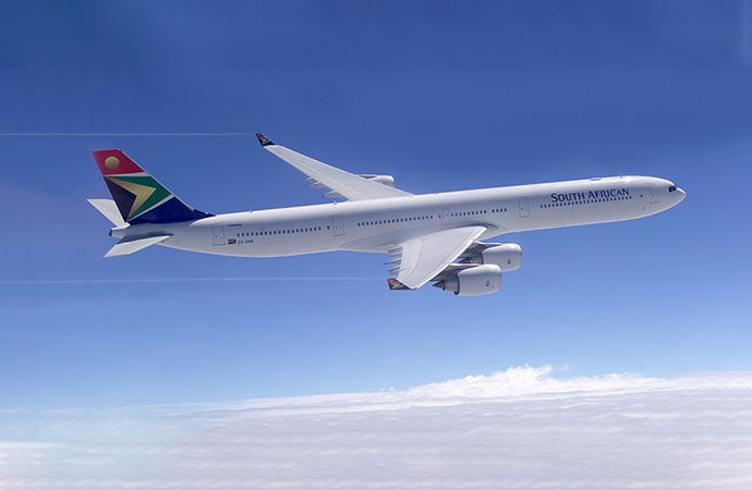 South African Airways Airbus A340 Aircraft