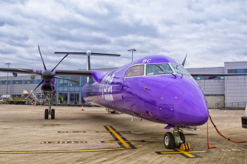 Flybe Aircraft, London City Airport